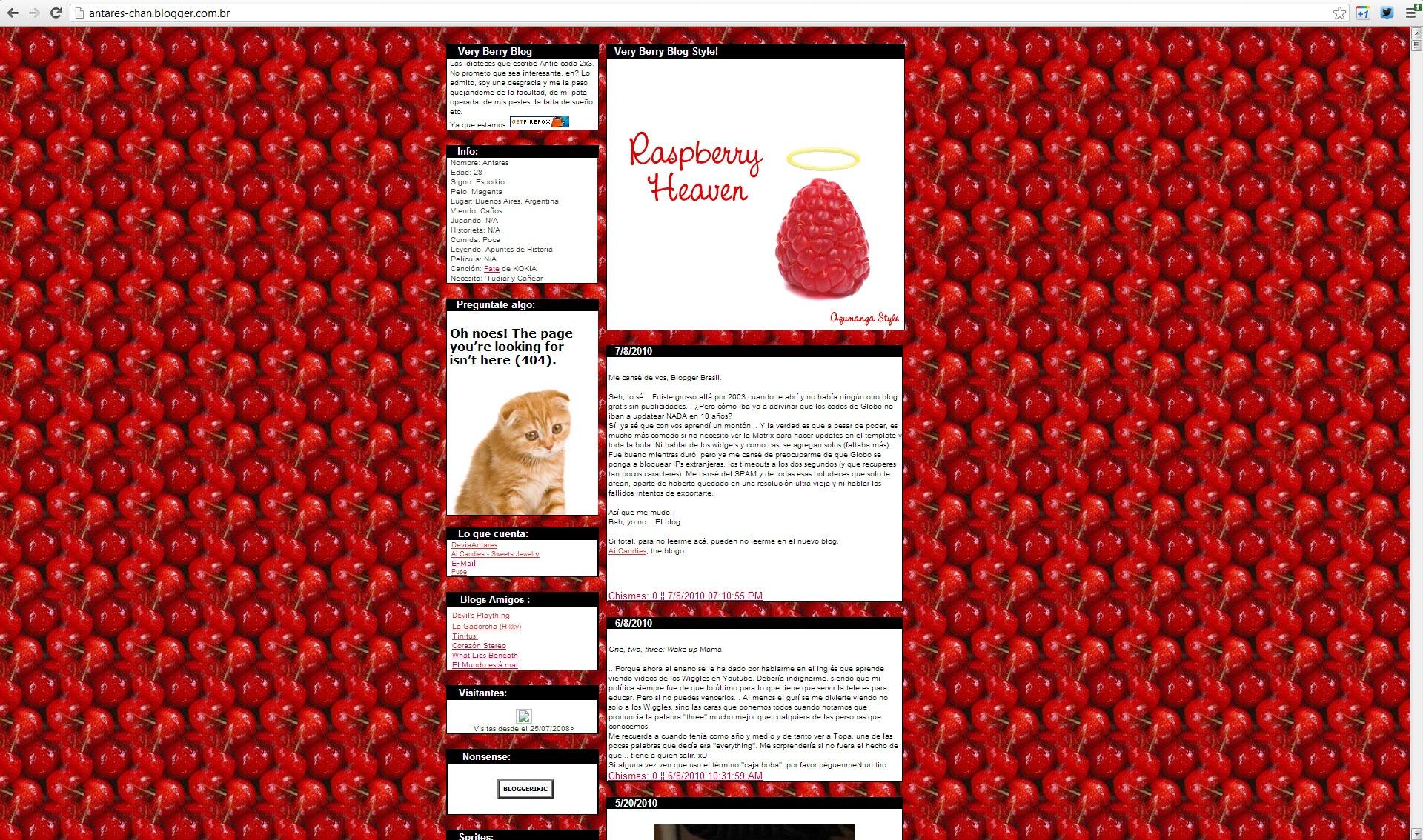 Very Berry Blog