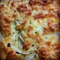 Desconche de queso y cebolla