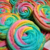 Galletitas arcoíris